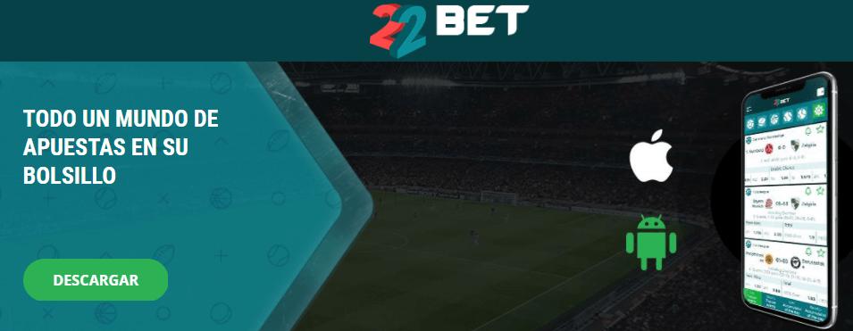 Utilice la aplicación 22bet para hacer su apuestas deportivas Ecuador
